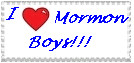 Mormon Boys stamp by Identical