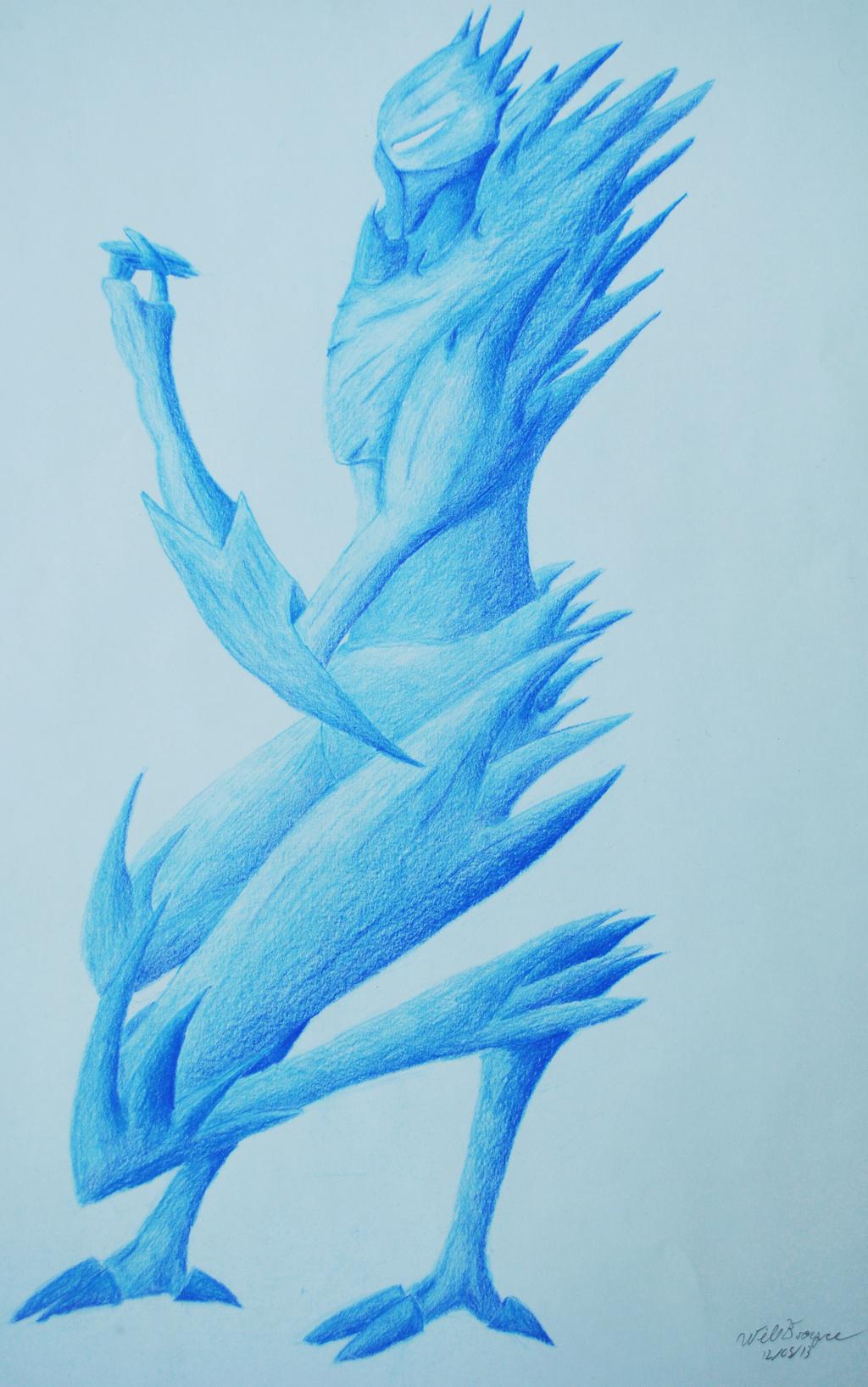 Ice Golem by BleeBl00