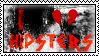 I Hate Hipsters Stamp by Beccaxz