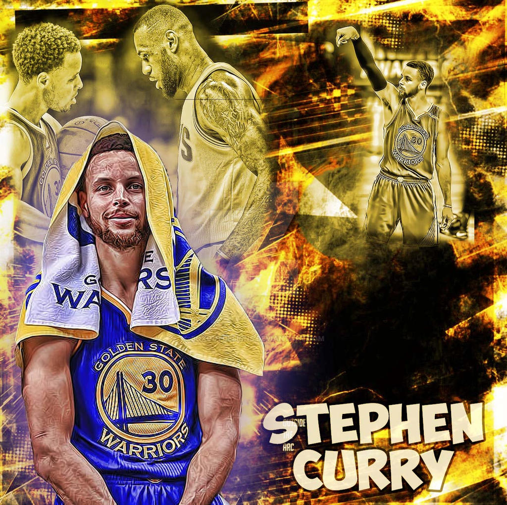 Warriors Record Without Stephen Curry 2017: Stephen Curry Wallpaper By Boxoutdesigns On DeviantArt