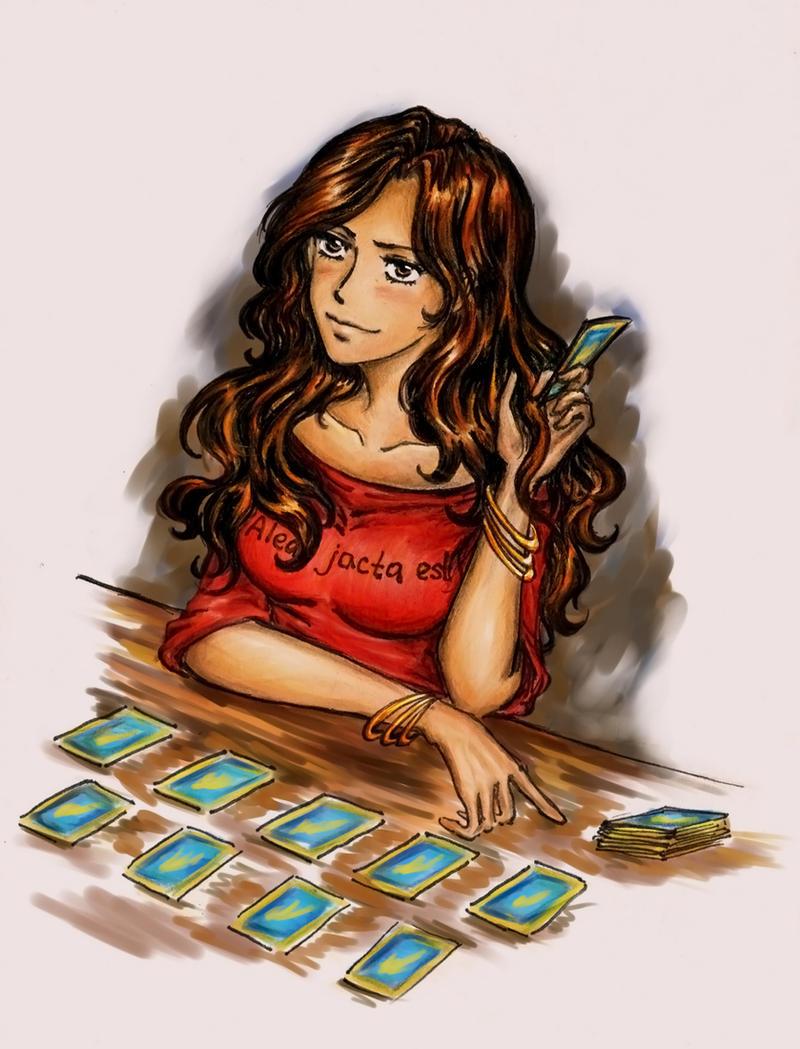 Fortune-teller Cana Alberona by Jozephina