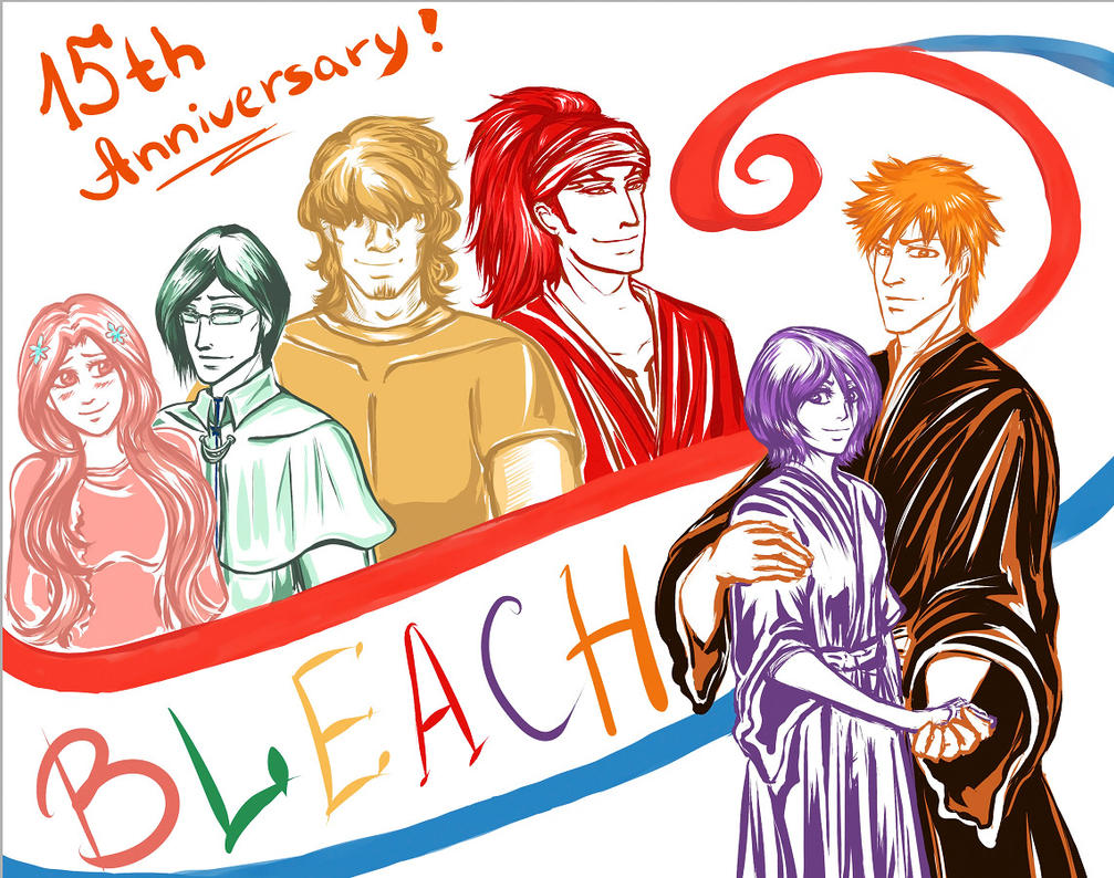 Bleach 15th Anniversary! by Jozephina