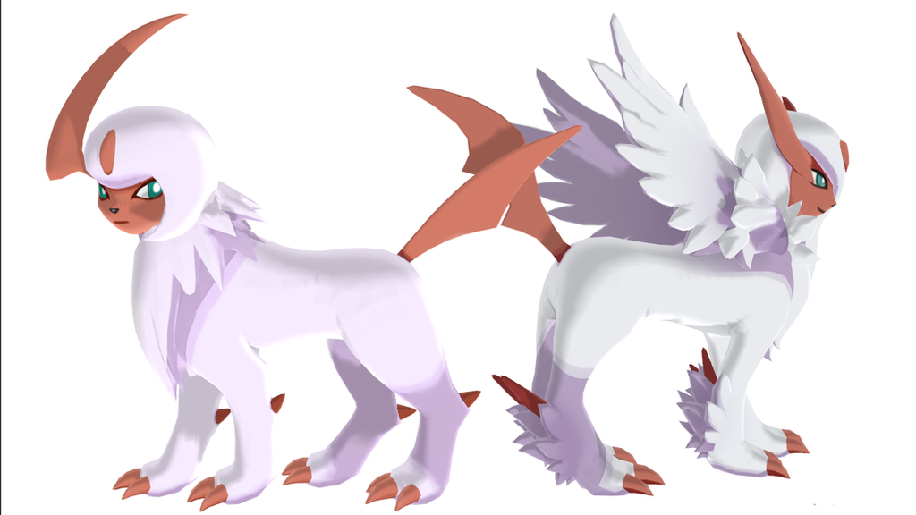 Mega Absol Shiny Template by SolsticeTheRiolu on DeviantArt