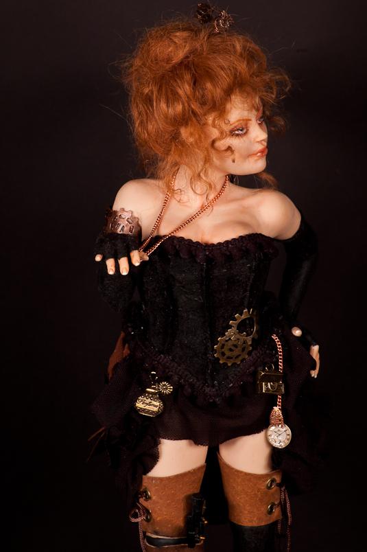 ooak Steampunk Fairy Victoria by incantostudios