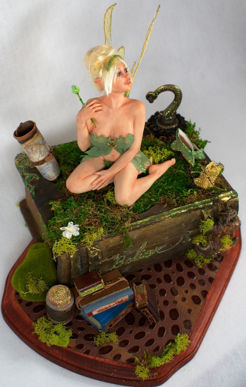 ooak Tinkerbell Fairy by incantostudios