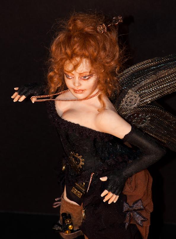 ooak Steampunk Fairy Victoria - more pics by incantostudios