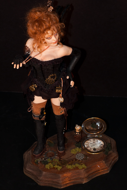 ooak Steampunk Fairy Victoria - more pics 3 by incantostudios