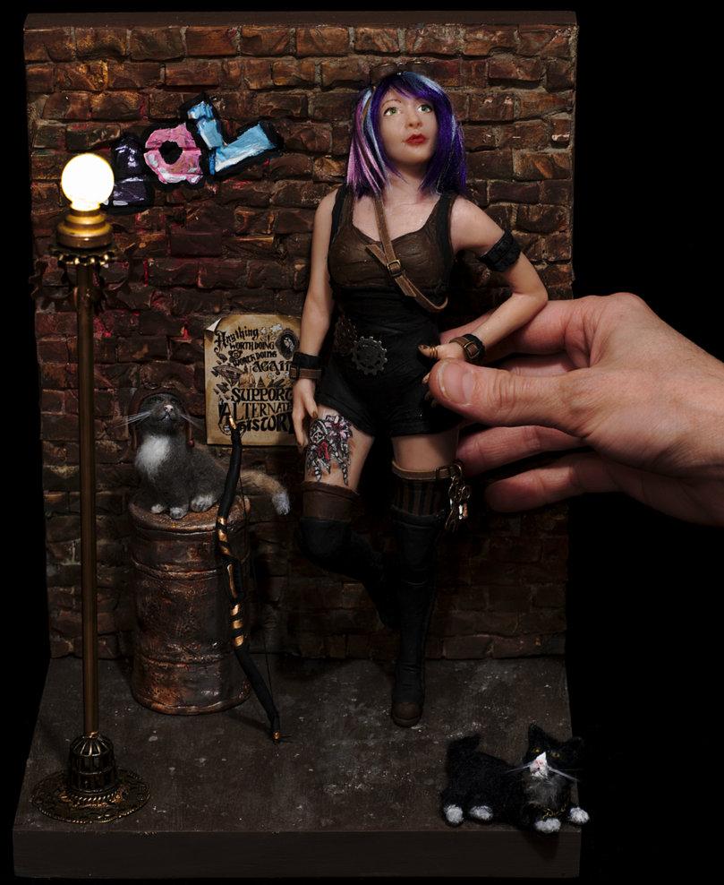 ooak Commission piece by Carla Goncalves by incantostudios
