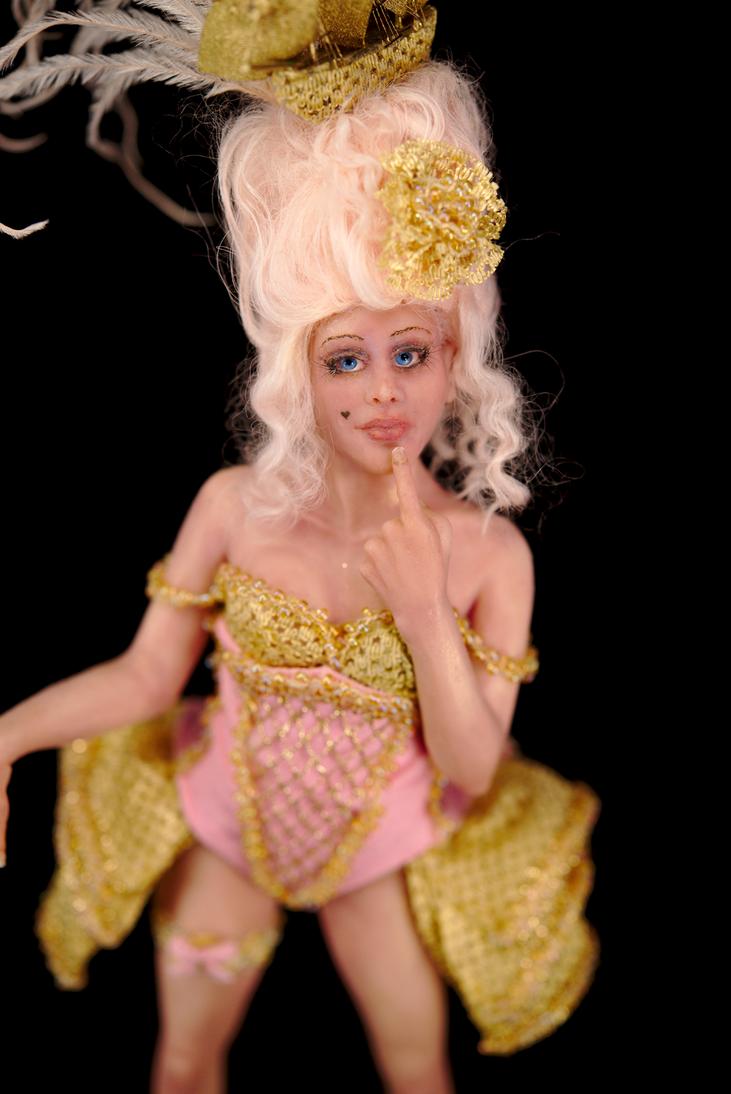 ooak Marie Antoinette by Incantostudios by incantostudios