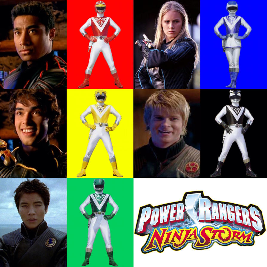 Power Rangers Ninja Storm as Liveman by PinkRangerFan