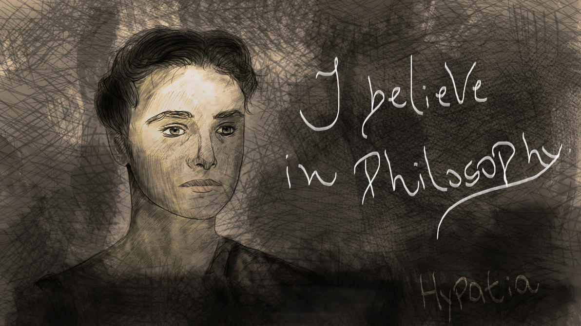 Hypatia believe...
