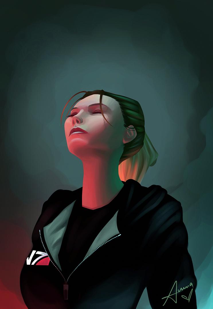 Saint Shepard by Trooperella