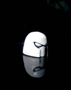 Cyborg Space Barbarian Helmet Right