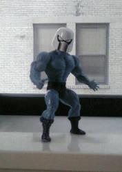 Cyborg Space Barbarian Helmet on Faker