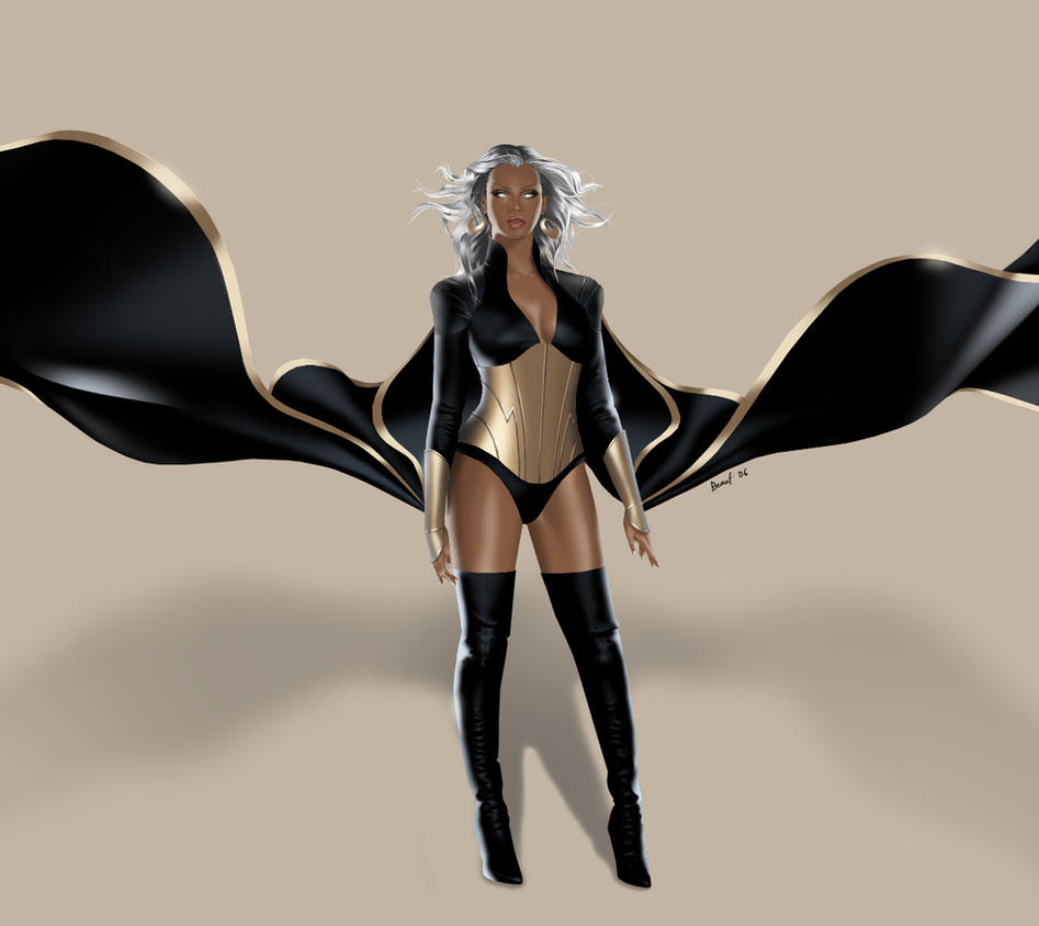 Storm Final Costume Design by popsyturvee