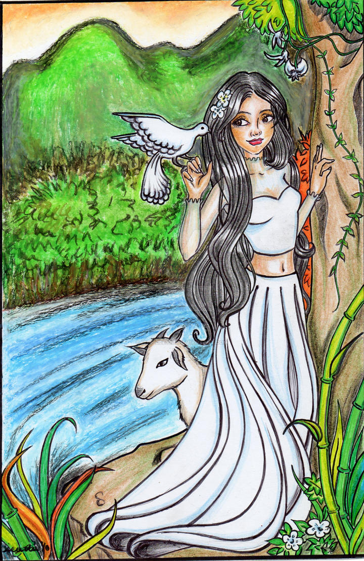 My Personal Version Of Maria Makiling By Icee Deeyah On