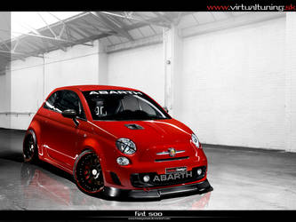 Fiat 500 Abarth by hesoyam25