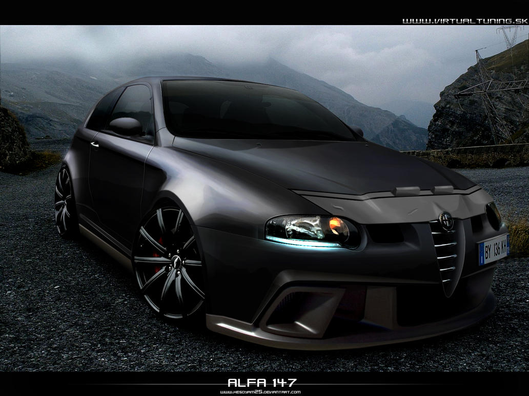 alfa romeo 147 by hesoyam25 on deviantart. Black Bedroom Furniture Sets. Home Design Ideas