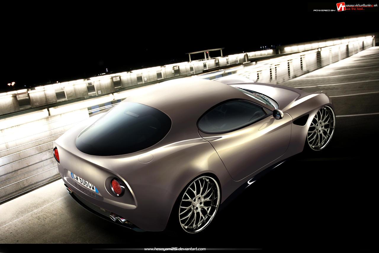 Alfa Romeo 8C Competizione by hesoyam25