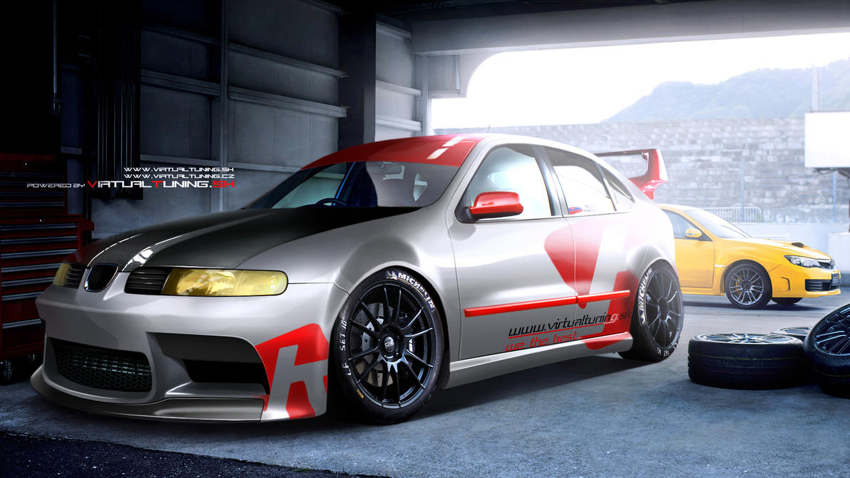 Seat Leon vt.sk race car by hesoyam25