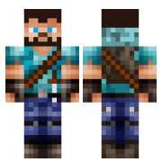 My minecraft skin by Green-spectra