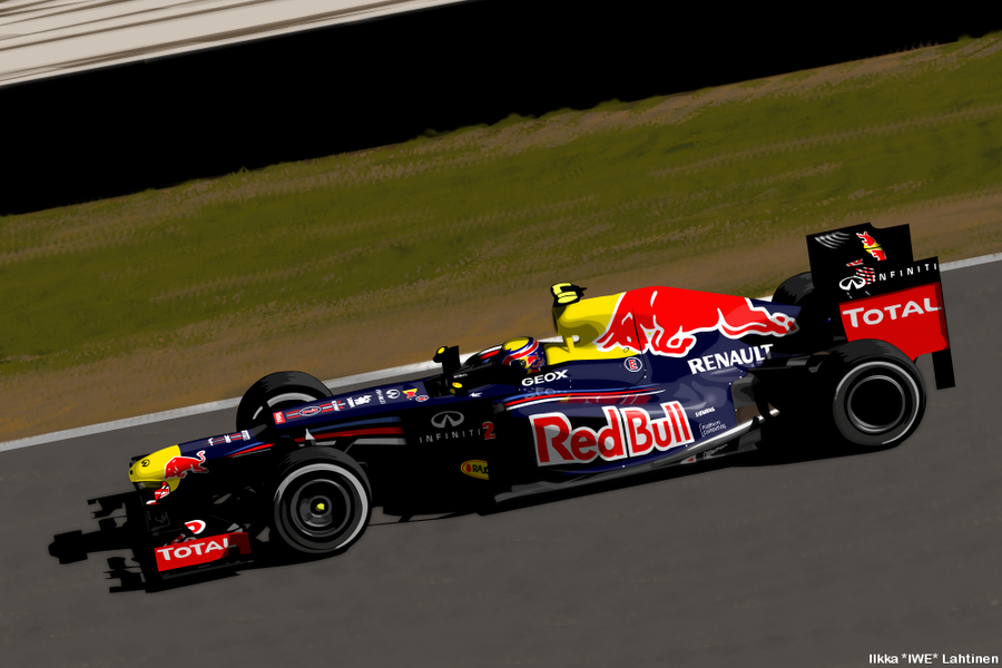 Mark Webber - Red Bull Racing - 2012 by I-W-E