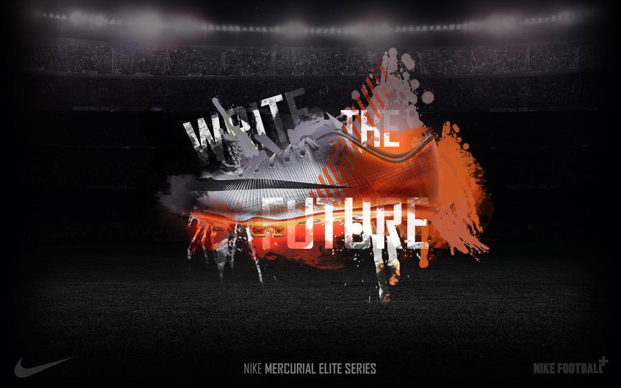innovative design 874c2 ea1e7 NIKE WRITE THE FUTURE by bdimitrov