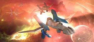 Star Fox Arwings