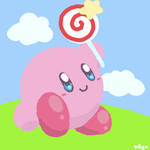 Kirby WITH CANDYYYYY