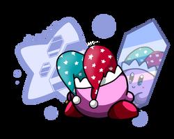 Mirror Kirby! by p0Yo
