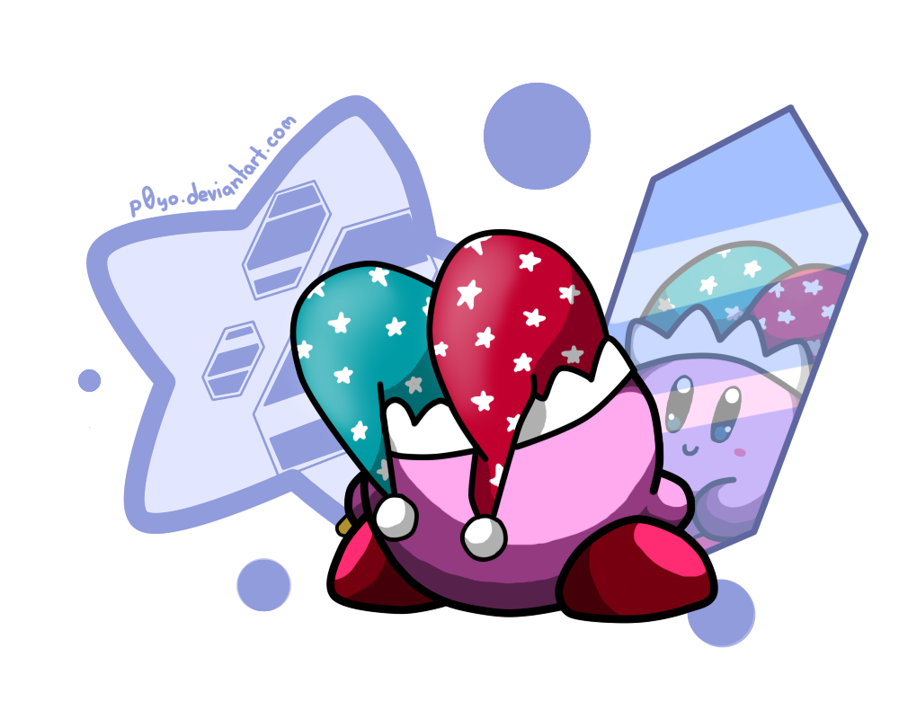 mirror kirby by p0yo on deviantart