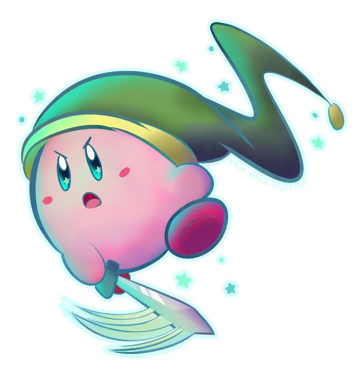 Collaboration Sword Kirby By P0yo On Deviantart
