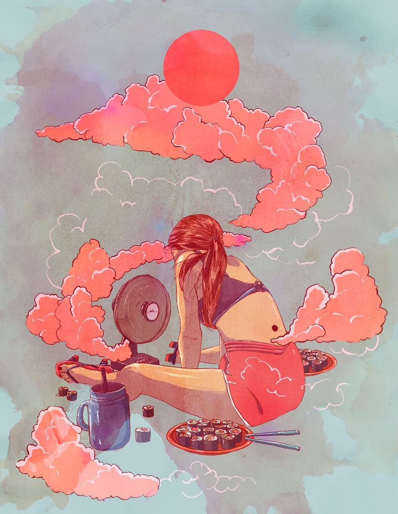 Lucid Summer Dreams by alterlier