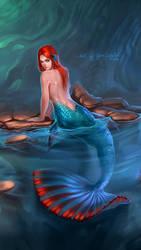 Mermaid-betta by Gaomonpentablet