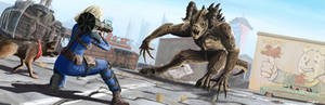 Fallout 4: Deathclaw