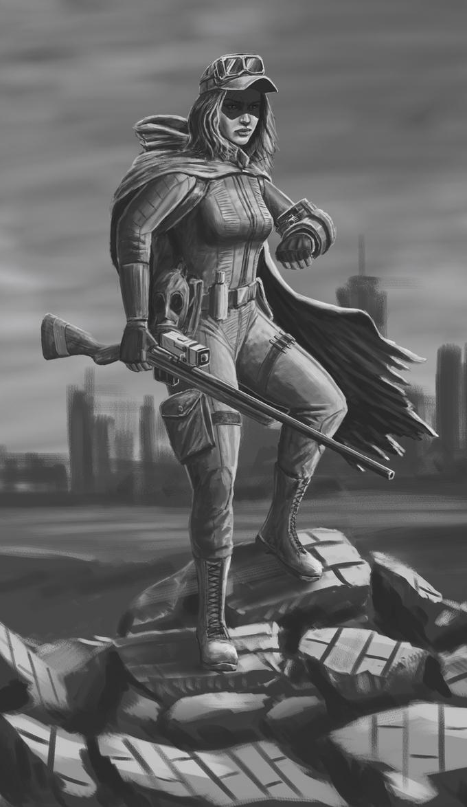 Wasteland Survivor by rustysteel