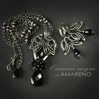Carmen negra - set 1 by BartoszCiba