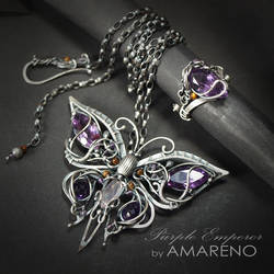 Purple Emperor set 2 by BartoszCiba
