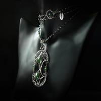 Quetzal - necklace 1