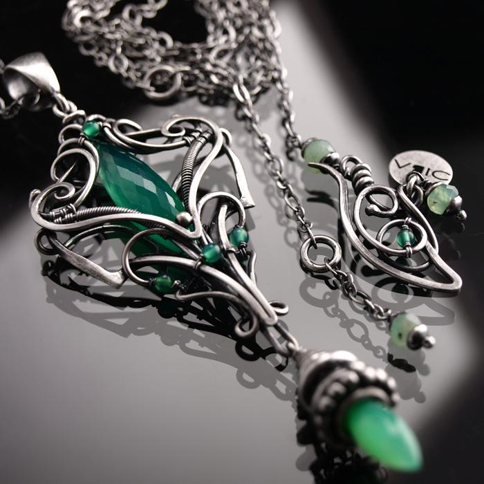 Luxuria necklace 1 by BartoszCiba