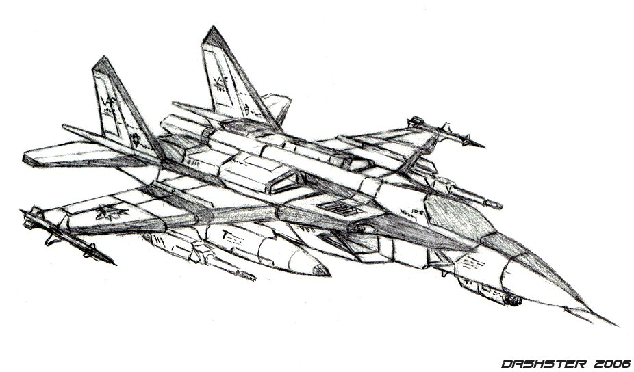 mix of fighter jets by dashster