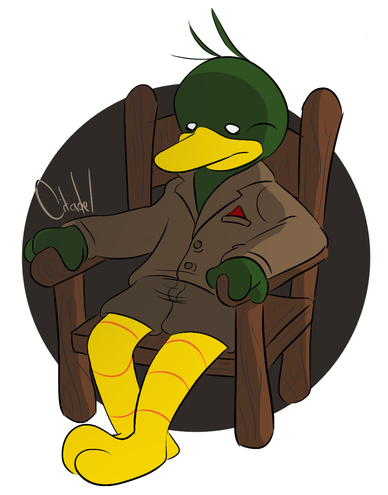 Duck Guy by citadeel