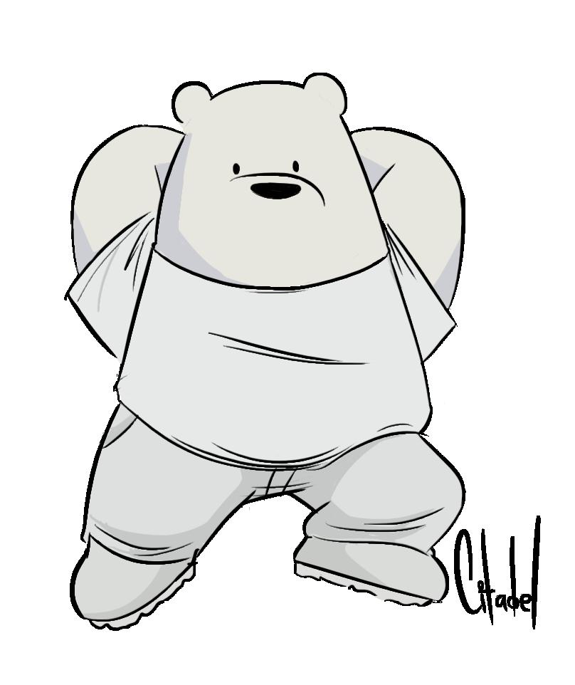 Fashion Bears Ice Bear by citadeel