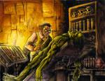 Frankenstein panel 1