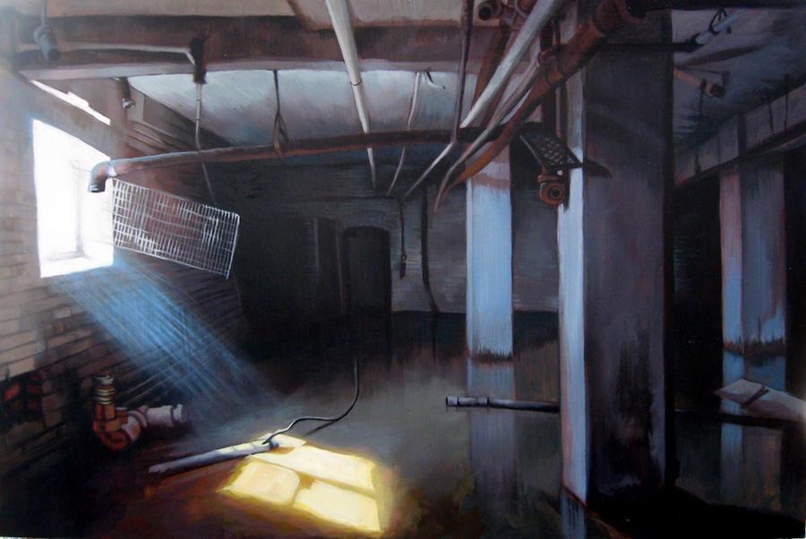 flooded basement by zombpunk on deviantart