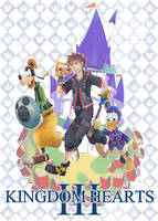 Kingdom Hearts Trio by Shannju