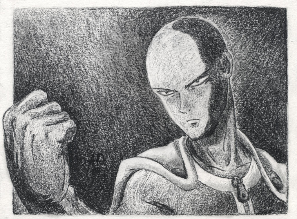 One Punch Man - Saitama by Architect-of-Dreams