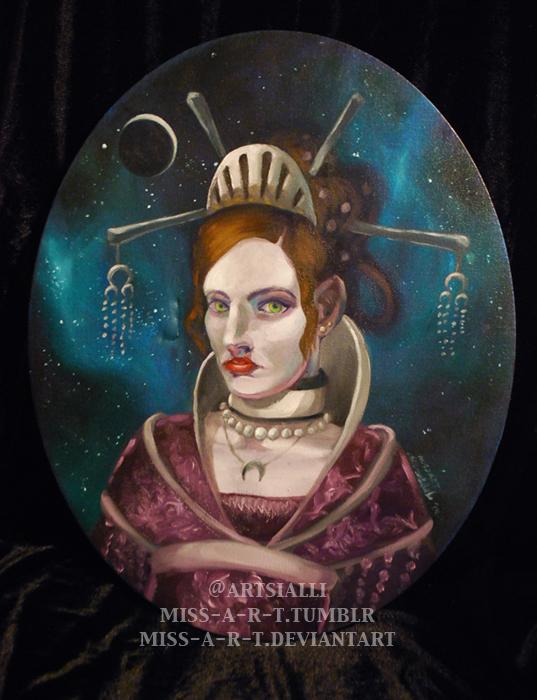 Lunar Queen Levana by miss-a-r-t