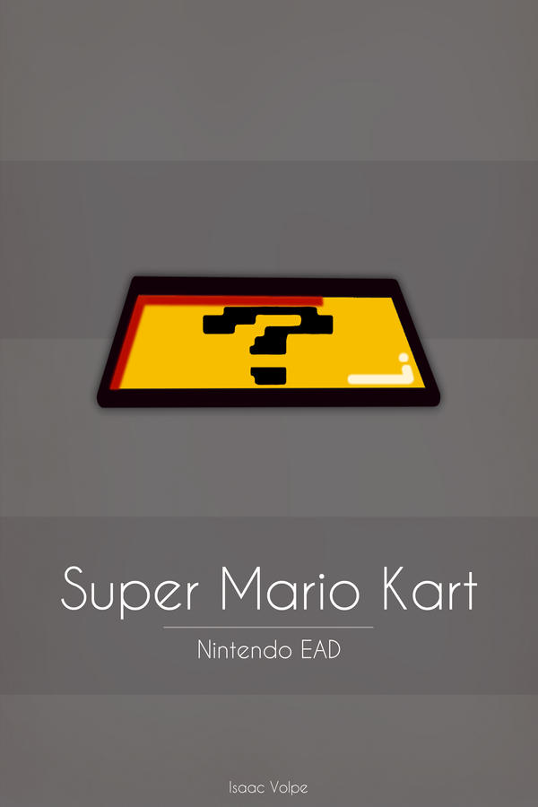 Super Mario Kart by Isaac-Volpe