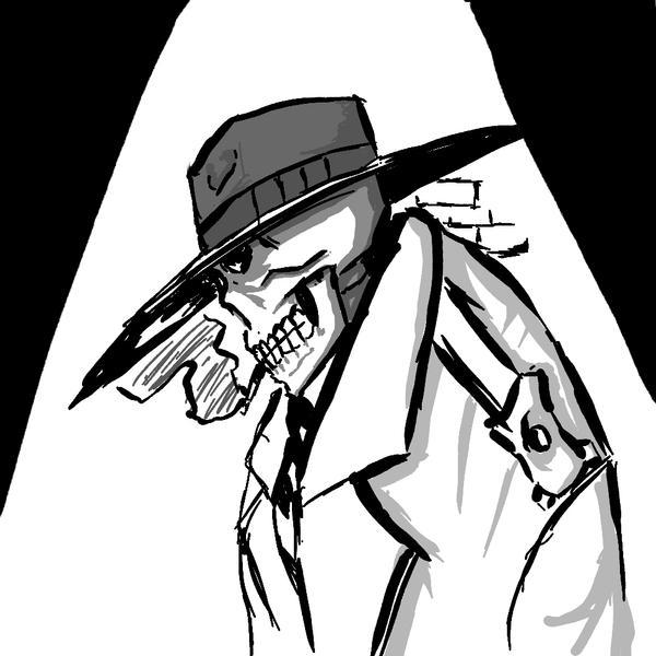 skull detective by kyoshin523